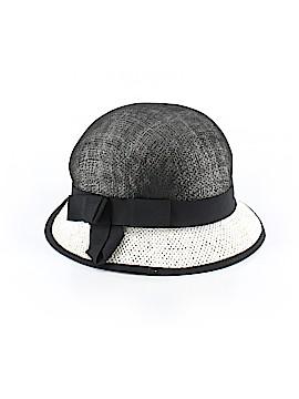 Black Saks Fifth Avenue Sun Hat One Size