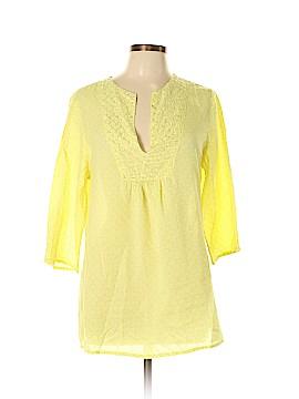 Moda International 3/4 Sleeve Blouse Size M