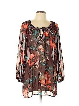 Fashion Bug 3/4 Sleeve Blouse Size 0X (Plus)