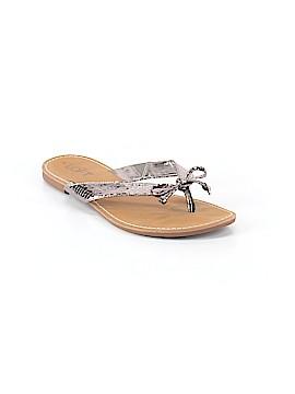 Ann Taylor LOFT Flip Flops Size 7