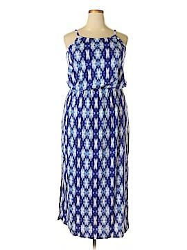 Faded Glory Casual Dress Size 1X (Plus)