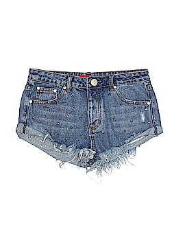 Signature Denim Shorts Size M