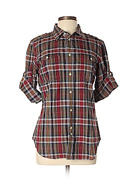 Ralph Lauren Sport Long Sleeve Button-Down Shirt Size 12