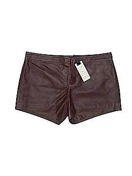 BB Dakota Leather Shorts Size 10