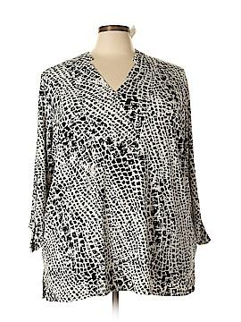 Jaclyn Smith Long Sleeve Top Size 3X (Plus)
