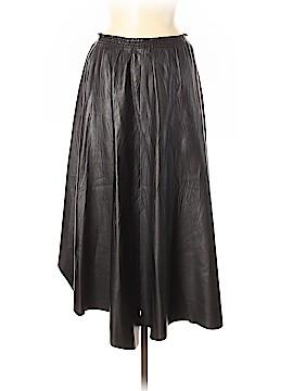 Plein Sud Leather Skirt Size 38 (FR)