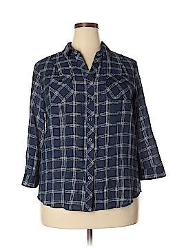 CB 3/4 Sleeve Blouse Size 1X (Plus)