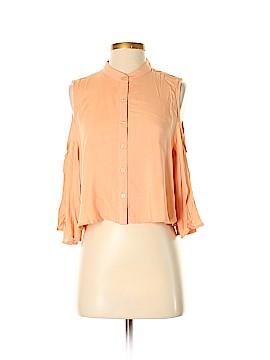 Signature 8 3/4 Sleeve Blouse Size S