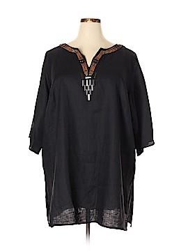 Marina Rinaldi 3/4 Sleeve Blouse Size 22 (31) (Plus)
