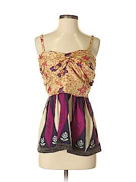 Deletta Sleeveless Silk Top Size S