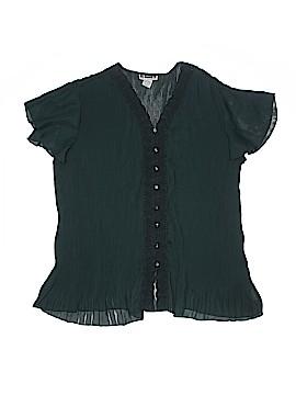 JL Studio Short Sleeve Blouse Size 18 (Plus)