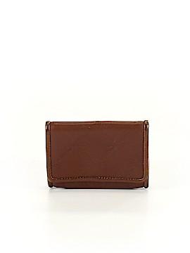Longchamp Leather Card Holder One Size