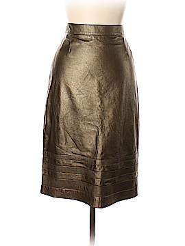 Escada by Margaretha Ley Leather Skirt Size 44 (EU)
