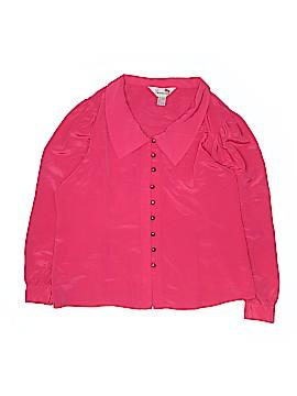 Internacionale Long Sleeve Blouse Size 15 - 16