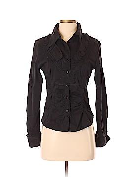 Moschino Long Sleeve Button-Down Shirt Size 12