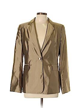 INC International Concepts Silk Blazer Size 10