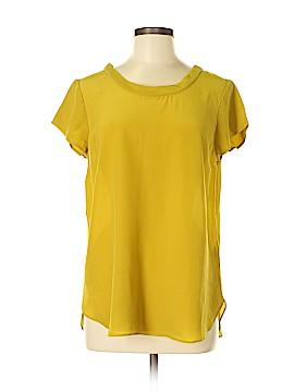 Boden Short Sleeve Silk Top Size 8