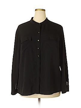 Anne Klein Long Sleeve Blouse Size 2X (Plus)