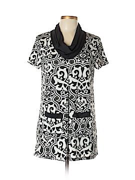 INC International Concepts Short Sleeve Button-Down Shirt Size L