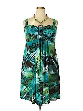 R&M Richards Casual Dress Size 1X (Plus)