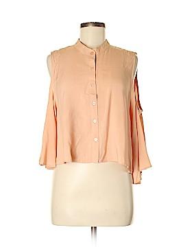 Signature 8 3/4 Sleeve Blouse Size M
