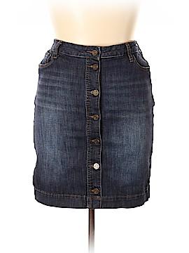 Kut from the Kloth Denim Skirt Size 14 (Petite)