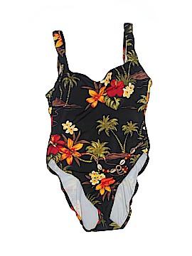 Caribbean Joe One Piece Swimsuit Size 12