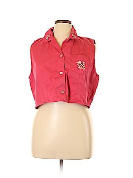 Bobbie Brooks Sleeveless Button-Down Shirt Size 16 - 18