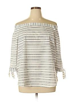 Ann Taylor Factory 3/4 Sleeve Blouse Size XL
