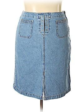 Covington Outlet Denim Skirt Size 18 (Plus)