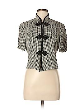 Jessica Howard Short Sleeve Blouse Size 8