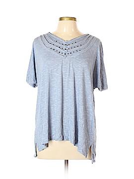 MULTIPLES Short Sleeve Top Size XL