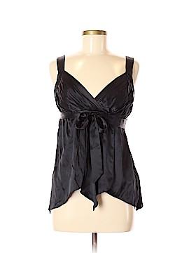 WD.NY Sleeveless Silk Top Size 6