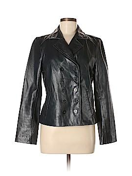 MICHAEL Michael Kors Leather Jacket Size 8