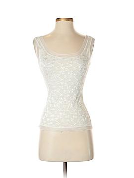 Papillon Blanc Sleeveless Top Size S