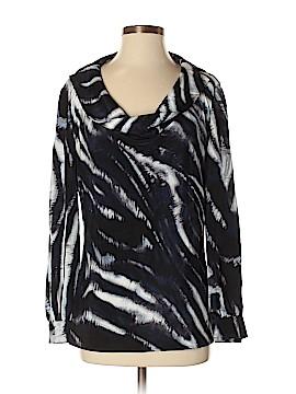 St. John Long Sleeve Silk Top Size 4