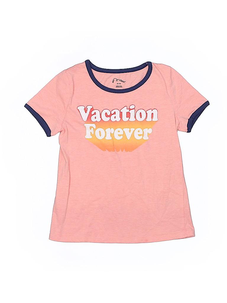 Art Class Graphic Light Pink Short Sleeve T Shirt Size 7 8 77
