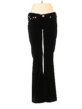 True Religion Velour Pants 28 Waist