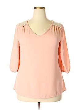 Tua 3/4 Sleeve Blouse Size 1XL (Plus)