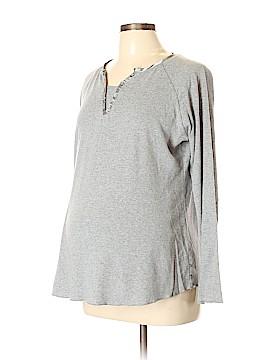 Tomorrow's Mother 3/4 Sleeve Henley Size XL (Maternity)