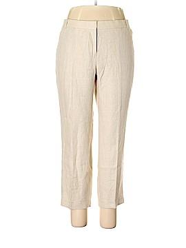 J. Crew Linen Pants Size 16