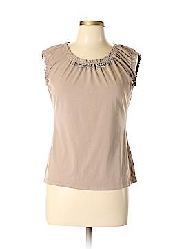 Ann Taylor LOFT Outlet Short Sleeve Top Size L (Petite)