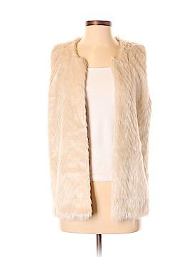 Maison Scotch Faux Fur Vest Size Sm (1)