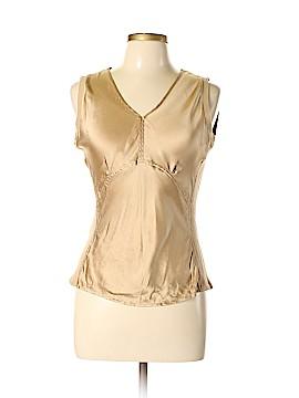 Nine West Sleeveless Silk Top Size L