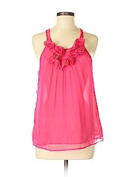 Cynthia Rowley TJX Sleeveless Silk Top Size M
