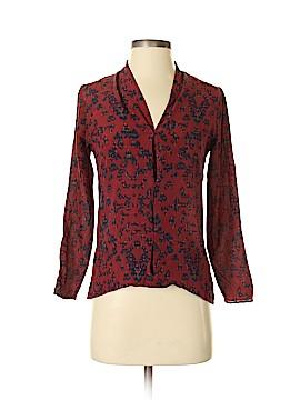 Barneys New York Long Sleeve Blouse Size XS