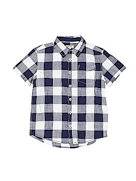 Cherokee Short Sleeve Button-Down Shirt Size 8