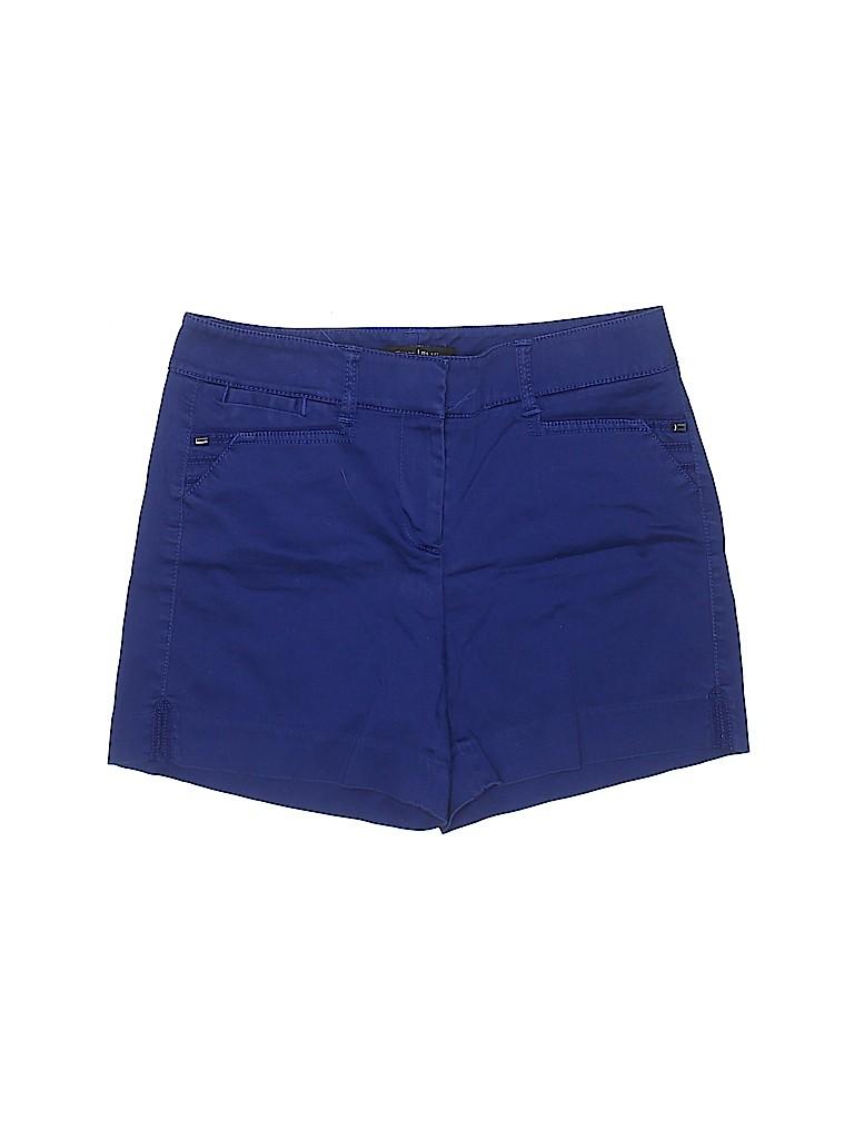 White House Black Market Women Khaki Shorts Size 2