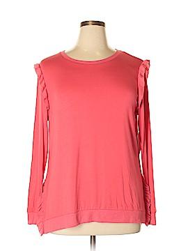 Kensie Long Sleeve Top Size XL