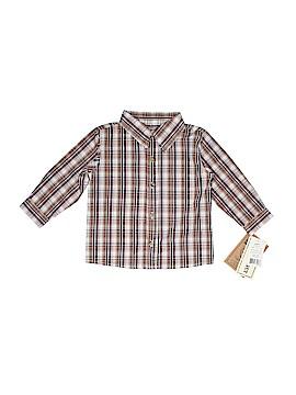 Little Rebel Long Sleeve Button-Down Shirt Size 24 mo